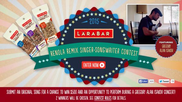 Larabar Contest