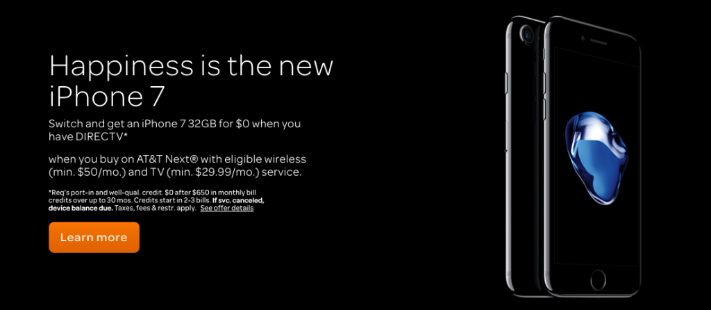 Happiness is the new iphone 7…or is it?