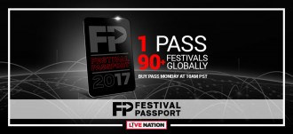 Live Nation Festival Passport