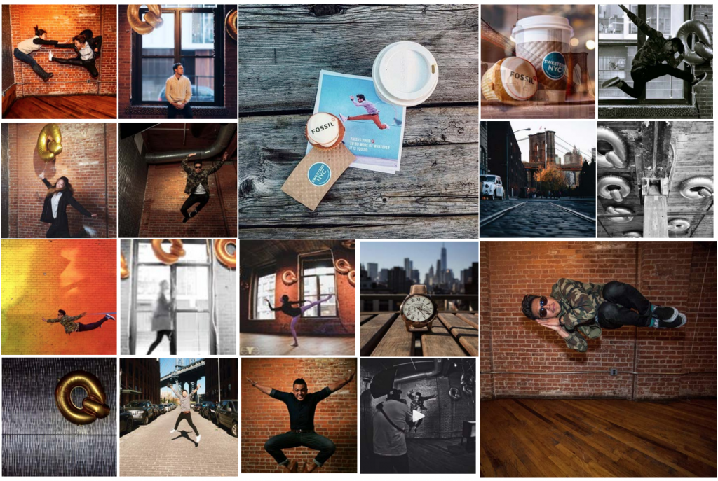 FOSSIL Q LAUNCH AND INSTAMEET IN NY